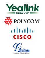 voip phones, ip phones, cisco, yealink, grandstream, polycom